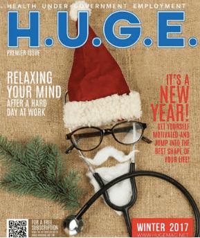 H.U.G.E. Magazine Winter 2017