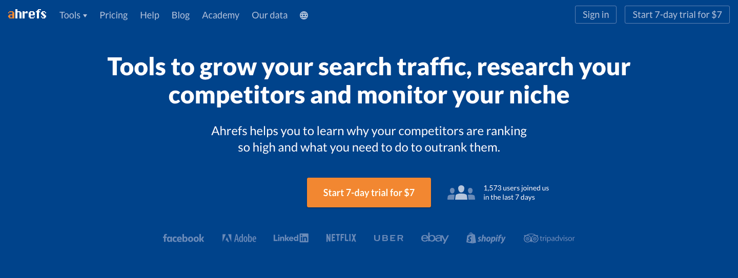 use Ahrefs to find evergreen content