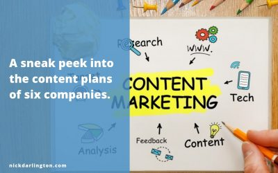 6 Content Strategists Share Their Content Plans for 2019