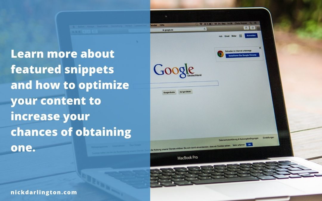 What's the Deal with Google's Featured Snippets?