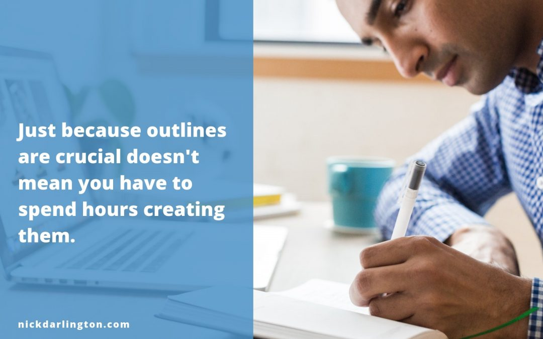 How Much Time Should You Spend Outlining Blog Posts?